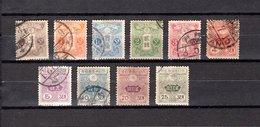 Japón   1913  .-   Y&T  Nº    117/126    ( 122  Falta Punta ) - Japon