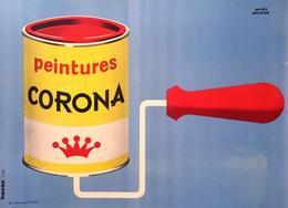@@@ MAGNET - PEINTURES CORONA - Publicitaires
