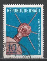 Haiti 1958. Scott #424 (U) U.S. Satellite, International Geophysical Year * - Haïti