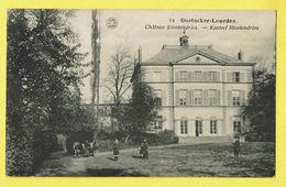 * Oostakker - Oostacker (Gent - Gand) *  (G. Hermans, Nr 14) Lourdes, Chateau Slootendries, Kasteel, Castle, Animée Rare - Gent