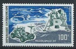 Centrafrique YT PA 107 XX /MNH Espace Space Apollo - Centrafricaine (République)