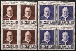 [812990]Vatican 1959 - N° 272/73, Pie XI, Religion, Pape, BD4 - Papes
