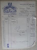 Facture Ancienne Manufacture De Bonneterie G Pagnoz & Cie - Vierzon Villages 1940 - France