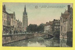 * Brugge - Bruges (West Vlaanderen) * (Albert, Nr 51) Rozenhoedkaai Dijver, Quai Du Rosaire Vers Le Dyver, Cygne, Pont - Brugge