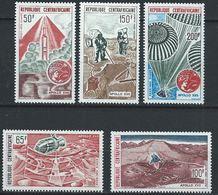 Centrafrique YT PA 124-128 XX /MNH Espace Space - Centrafricaine (République)