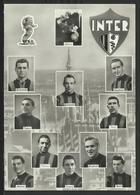 Cartolina INTER - Formazione Anni '50 - Calcio
