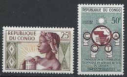 Congo-Brazzaville YT 135-136 XX /MNH - Congo - Brazzaville