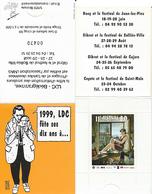 JUILLARD GIBRAT : Pochette 1 Timbre Pour SALON SOLLIES 1999 Revers JUILLARD Pour 10 Ans LDC - Juillard