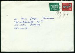 BR Irland | 1979 Brief Von Baile Átha Cliath ( Dublin ) Nach Dänemark, Esbjerg - 1949-... Republik Irland