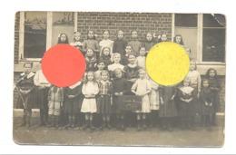 Photo Carte - Ecole Des Filles De CEREXHE En 1913, Classes, élèves,... (b247) - België