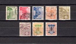 Japón   1926-29  .-   Y&T  Nº    191/193-202/206 - Oblitérés