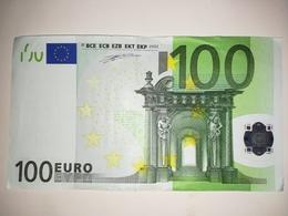 EURO Germany 100 EURO (X) P007 Sign DUISENBERG - EURO