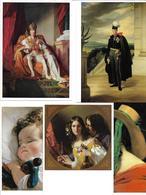 1651g: 9 AKs Friedrich Von Amerling (1803-1887), Ungelaufen - Künstlerkarten