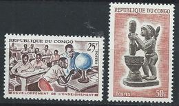 Congo-Brazzaville YT 167-168 XX /MNH - Congo - Brazzaville