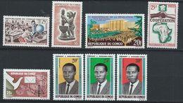 Congo-Brazzaville YT 167-174 XX /MNH - Congo - Brazzaville