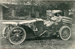 AUTOMOBILE(GRAND PRIX DE L A.C.F.) RENAULT - Cartes Postales