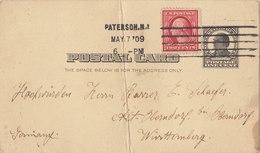 USA 1909 Postcard To Wurttemberg, GERMANY.BARGAIN!! - Postwaardestukken