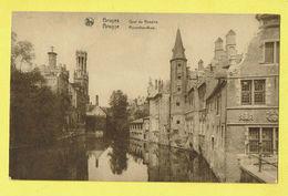 * Brugge - Bruges (West Vlaanderen) * (Nels, Edit Librairie Papeterie Centrale) Quai Du Rosaire, Rozenhoedkaai, Belfort - Brugge