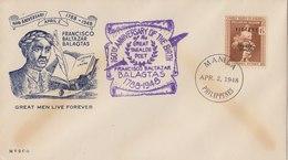 PHILIPPINES 1948 Envelope With Victory Stamp.BARGAIN!! - Filippijnen