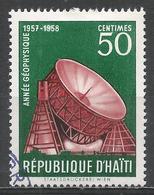 Haiti 1958. Scott #426 (U) Modern Observatory, International Geophysical Year * - Haïti