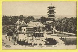 * Laken - Laeken (Brussel - Bruxelles) * (Henri Georges, Nr 47) Tour Japonaise Et Pavillon Chinois, Japan China, Kiosque - Laeken