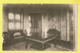 * Laken - Laeken (Brussel - Bruxelles) * (E. Desaix, Nr 7) Pavillon Chinois, Salle Octogonale, China, Table, Rare, Old - Laeken