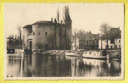 * Brugge - Bruges (West Vlaanderen) * (Nels, Série 12, Nr 10) Sint Kruispoort, Porte Sainte Croix, Bateau, Quai, Boat - Brugge
