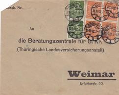 Brief Aus Coburg 1922 - Allemagne