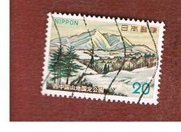 GIAPPONE  (JAPAN) - SG 1327  -   1973  MOUNT SHINNYU  - USED° - 1926-89 Imperatore Hirohito (Periodo Showa)