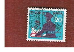 GIAPPONE  (JAPAN) - SG 1326  -   1973 POSTAL CODE CAMPAIGN - USED° - 1926-89 Imperatore Hirohito (Periodo Showa)