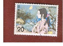 GIAPPONE  (JAPAN) - SG 1342  -   1974 JAPANESE FOLK TALES: CRANE DAMSEL - USED° - 1926-89 Imperatore Hirohito (Periodo Showa)