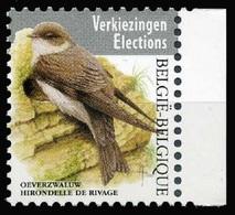 2019 Belgium, Birds, Swallow, Buzin, Stamp, MNH - Gru & Uccelli Trampolieri