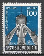 Haiti 1958. Scott #427 (U) Ocean Exploration, International Geophysical Year * - Haïti
