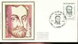 """[65601]N° 1824 - FDC - Pacification De Gent, Prince D'Orange - """"HAMME-MILLE"""", SNC - FDC"""