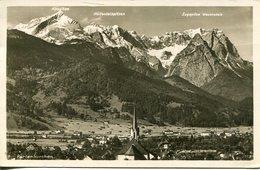 006215  Partenkirchen  Gesamtansicht - Garmisch-Partenkirchen
