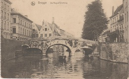 CPA AK Brugge Brügge Bruges De Augustijnerbrug Pont Augustins Augustiner Brücke Canal Westflandern Belgique Belgien - Brugge