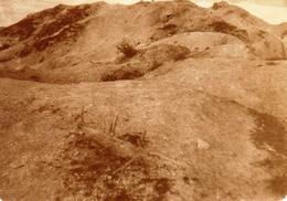 PHOTO FRANÇAISE - ASPECT DU TERRAIN AU FORT DE LA POMPELLE PRES DE REIMS MARNE 1919 - GUERRE 1914 1918 - 1914-18