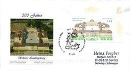 """BRD Schmuck-FDC  """"300 Jahre Schloß Ludwigsburg"""", Mi. 2398 ESSt 6.5.2004 BONN - BRD"""