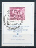 DDR Block 10 Gestempelt Mi. 60,- - DDR
