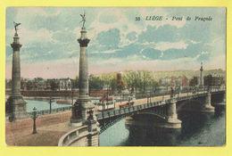 * Liège - Luik (La Wallonie) * (Edit Chapelier, Nr 35) Pont De Fragnée, Bridge, Brug, Canal, Tram, Vicinal, Rare, Old - Luik
