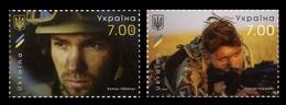 Ukraine 2018. Military Units. Defenders Of Ukraine Brend And Leshiy 2v Mih.1724-1725 Mnh** - Ucraina