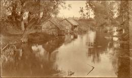 PHOTO FRANÇAISE - AU LENDEMAIN DE LA GUERRE - LA VESLE A TAISSY PRES DE REIMS MARNE 1919 - GUERRE 1914 1918 - 1914-18