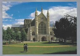 UK.- HAMPSHIRE. WINCHESTER CATHEDRAL. West Front. - Winchester