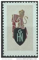 France - GHN Groupement Hippipique National Poster Stamp - Cinderellas