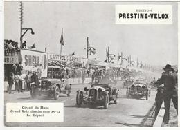PHOTO - AUTOMOBILE - CIRCUIT DU MANS, GRAND PRIX D'ENDURANCE 1932 - LE DEPART - 72 - Cars