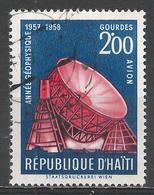 Haiti 1958. Scott #C121 (U) Modern Observatory, International Geophysical Year * - Haïti