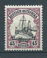 AFRIQUE ORIENTALE ALLEMANDE 1905. N° 28 . Neuf * (MH) . - Colonie: Afrique Orientale