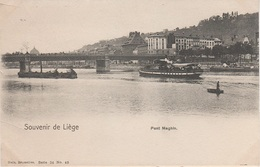 CPA AK Lüttich Liege Pont Brücke Maghin Bateau Tram Tramway Quai St Léonard Ste Barbe Kurth Maas Meuse Belgien Belgique - Luik