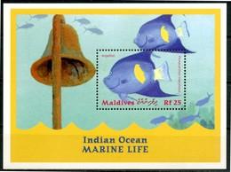 MALDIVES 2000** - Pesci / Fish - Miniblock  MNH Come Da Scansione - Pesci
