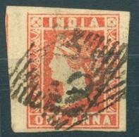 Inde Anglaise - Compagnie Des Indes - 1854 - Yt 3 - Victoria - Oblitéré - 1854 Compagnie Des Indes